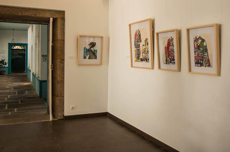 Sala de exposición Faro Vilán, Camariñas. La dama de las flores, 2017