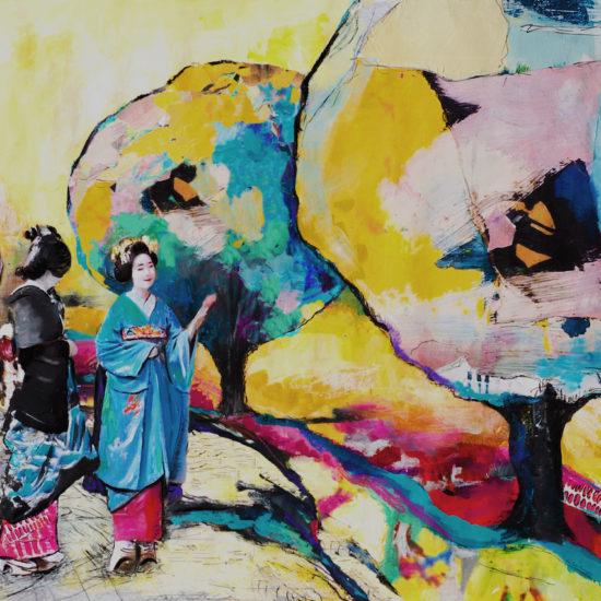 Ana Soler Fernández Diálogo 100 x 130 cm 1400€