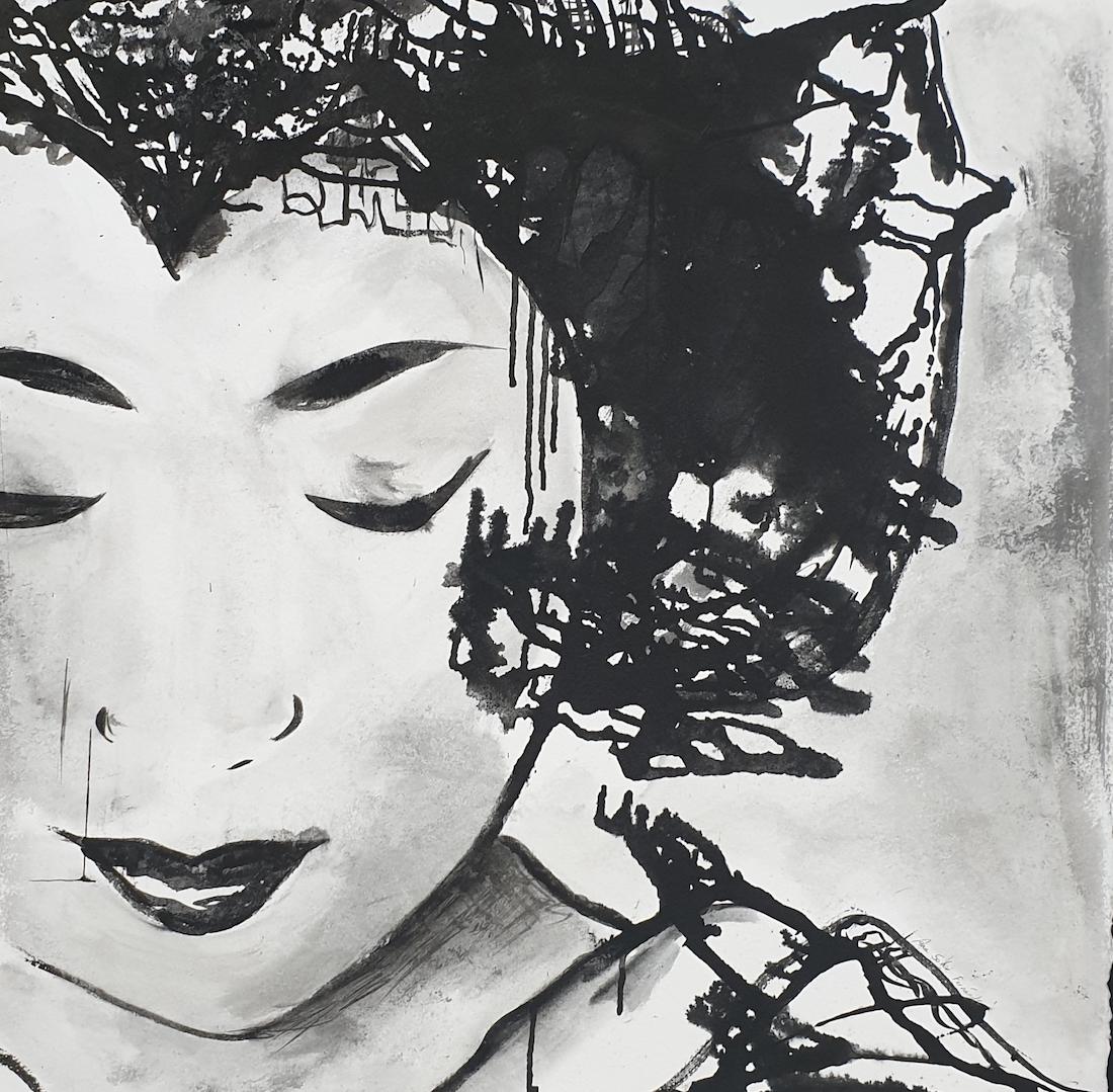 Ana Soler Fernández. Tinta china sobre papel de algodón