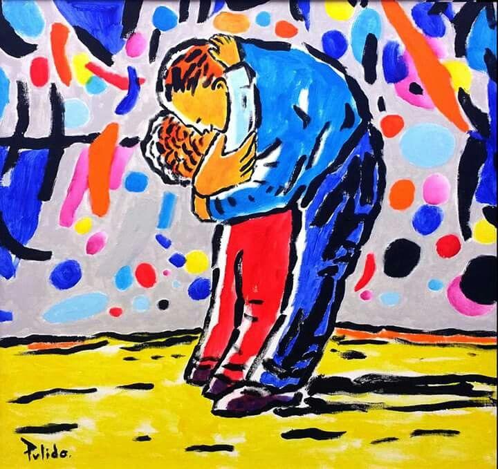 Pintura de Antón Pulido, quien me inspira