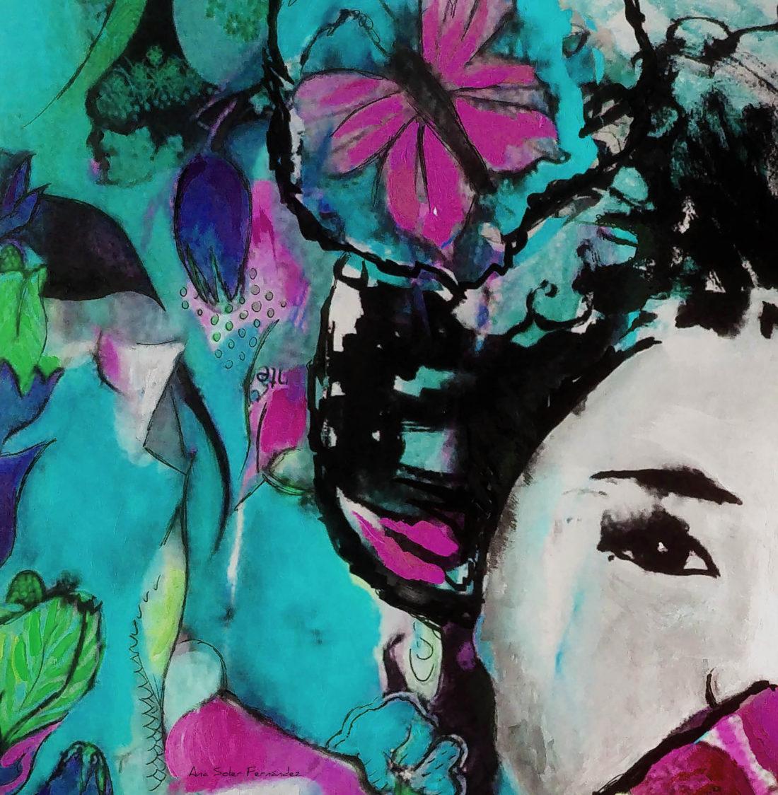 Colección de obras de Ana Soler para la exposición Art Nordic